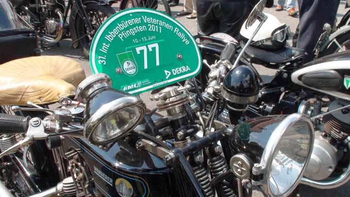 Motorrad-Veteranen-Rallye