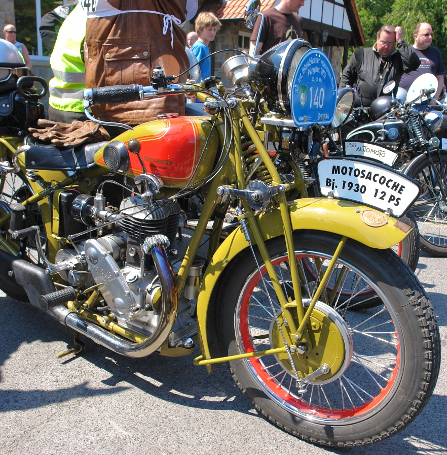 Motorrad-Veteranen-Rallye 21