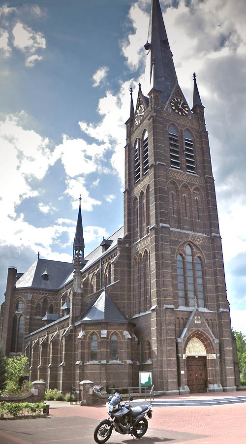 Die Kirche in Liessel