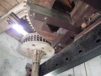 Getriebe in der Mühle
