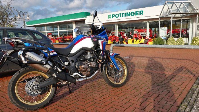 Motorradtour Januar